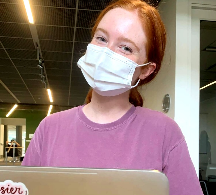 From Dub to Jacket: Class of 2019 North Atlanta graduate Kate Breeden (and former Warrior Wire staffer) is now a sophomore at Georgia Tech. Breeden, along with other NAHS graduates now at Tech, is having to make many adjustments during this pandemic-impacted school year.