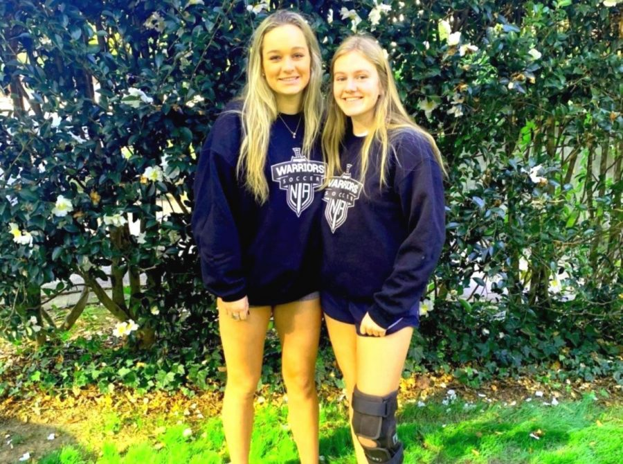 """Pain With Play: The action-packed sport of soccer is """"the beautiful game"""" but the sport is not without its significant injury risks. For years now, orthopedists have been noting a rash of serious knee injuries in high school athletes, particularly female athletes. Junior Skylar Huckabee and sophomore Caroline Edwards are two North Atlanta varsity soccer players who have sustained and are recovering from ACL tears."""