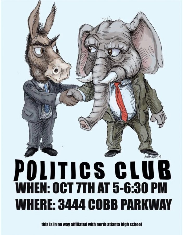 Agree to Disagree: To aspiring politicians, debate lovers, and young activists, politics club is a great way for students of varying perspectives to come together and talk about the current political climate.