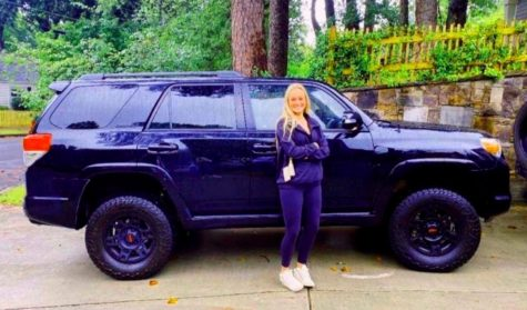 Riding in Style: Junior Skylar Huckabee went all out in modifying her 4-runner.