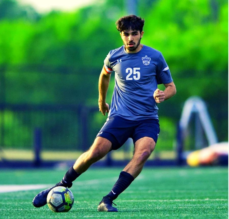 Backline Base: All season long, junior centerback Ryan Soyah has been a key part of the Warriors' defensive efforts. A team captain, Soyah was named first team all-region this season.