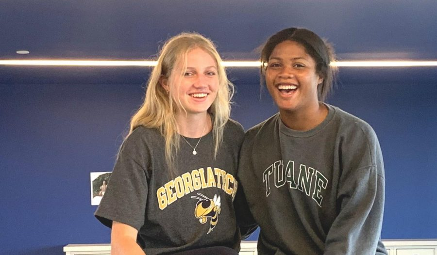 Net Effect: Volleyball captains Francie Coleman and Avery Horton, both seniors, are looking to lead their squad toward matching last season's success, which included a deep playoff run.