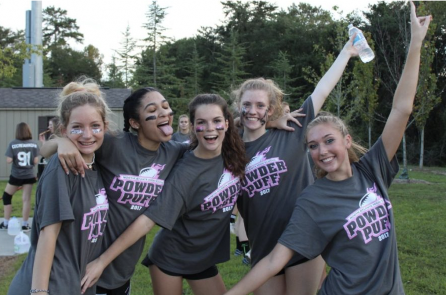 Back again: This beloved NAHS tradition has finally made its return. Since Powderpuff did not happen last year, Dubs are gearing up overtime for the game this year.