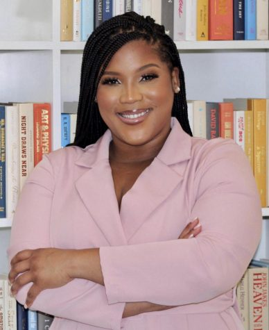 Cause for Celebration: Curlese Benson makes a first-year appearance as a journalism and literature teacher at NAHS, teaching younger Dubs and reuniting with students originally inspired by the educator in middle school.