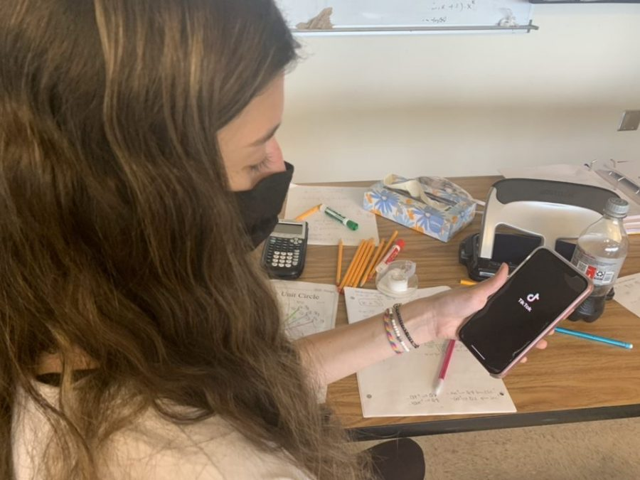 Causing more harm than good: TikTok has taken over the social media scene, but some students are contemplating the impacts of it on their mental health.