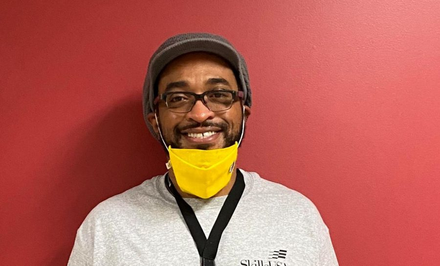 Cautious and Careful: Returning teachers, including graphic design teacher Mr. Johnson, are wary of in-person school as the Covid-19 Pandemic continues.