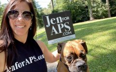 Meet McDonald: Pictured above is Jennifer McDonald, the North Atlanta parent running in the upcoming November elections to serve on the board of district four. Voting starts November 2, so make sure to get out there and use your voice!