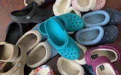 Croc Craze: These rubber shoes scattered with holes can be seen throughout the halls at North Atlanta.