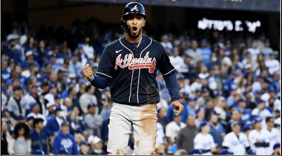 Unlikely production: Outfielder Eddie Rosario has come up huge in the postseason.