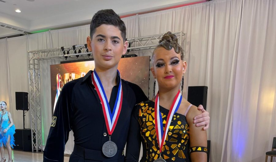 Dancing Dubs: Yakov Vinnik, a sophomore, has won the prestigious National Champion of the United States title for ballroom dancing.
